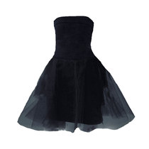 0 Mars Tulle Dress Black