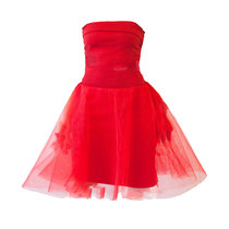 0 Mars Tulle Dress Red