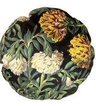 0 Sisustustyyny velvet pyöreä Exotic Flower