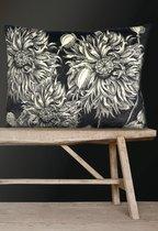 0 Sisustustyyny/Cushion Black Poppy 50X70 cm