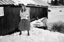 0 Skirt Tine Hard Voile Vintage Black