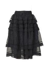 0 Skirt Voile Vintage Black