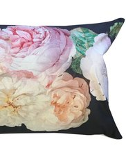 0 Tyynyliina & Tyyny / Pillow Cover & Pillow Black Rose 40X80 cm