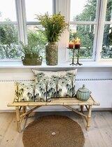 0 Vase Vintage Green structured