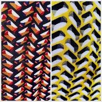 Vasemmalla terra, oikealla yellow