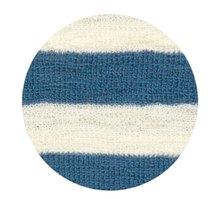 Denim Blue-Raw White