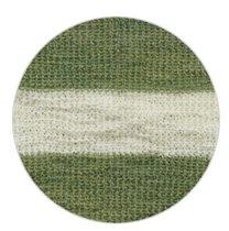 raw white-green stripes