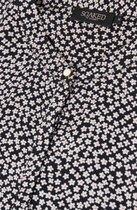 0 Zoey Bell Top Black Flowers