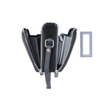 0 pouch bag robuste black silver