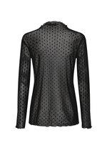 Alda Mesh Shirt Black